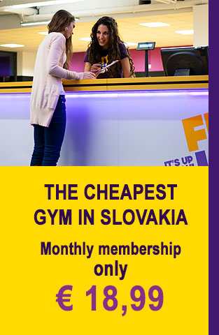 The cheapest gym in Slovakia