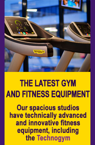 The latest gym and fitness equipment