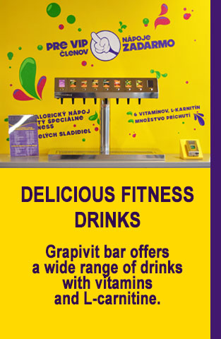 Delicious fitness drinks