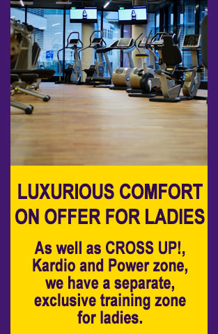 Luxurious comfort on offer for ladies