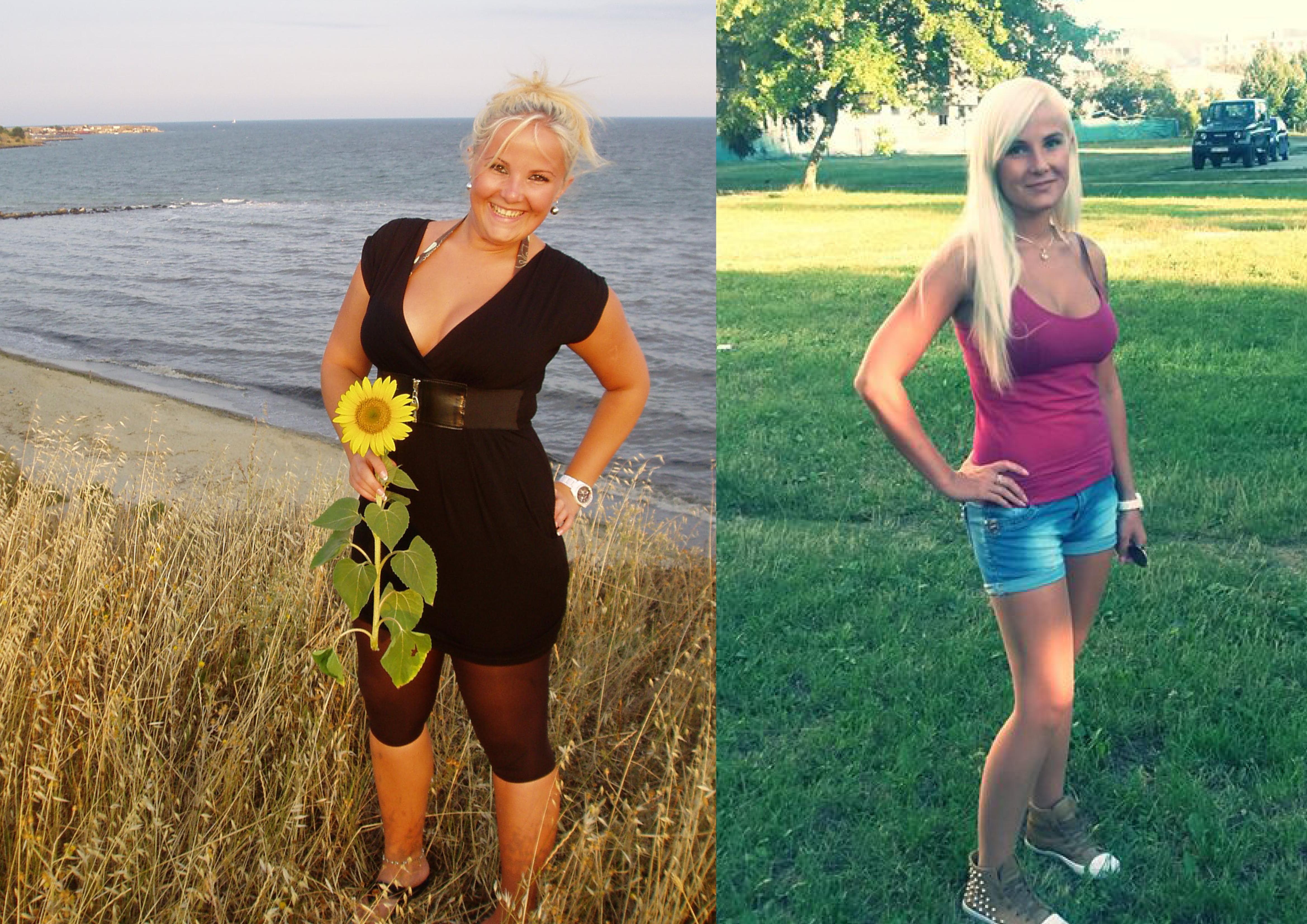 Laura pred a po svojej premen