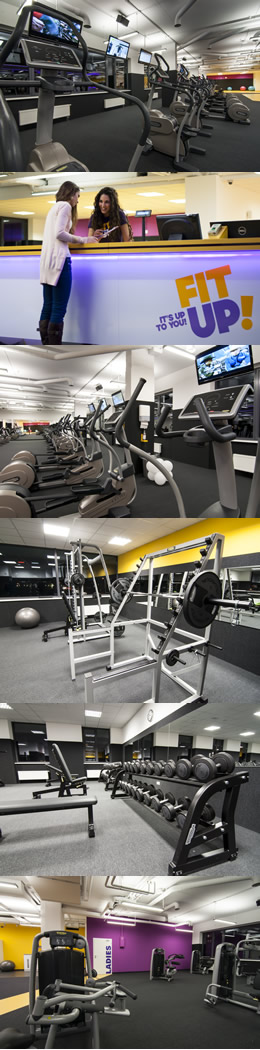 Fitnesscentrum Petržalka, Bratislava, Budova SKYBOX - FIT UP!