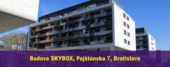 Fitnesscentrum Petržalka, Budova SKYBOX, Bratislava - FIT UP!