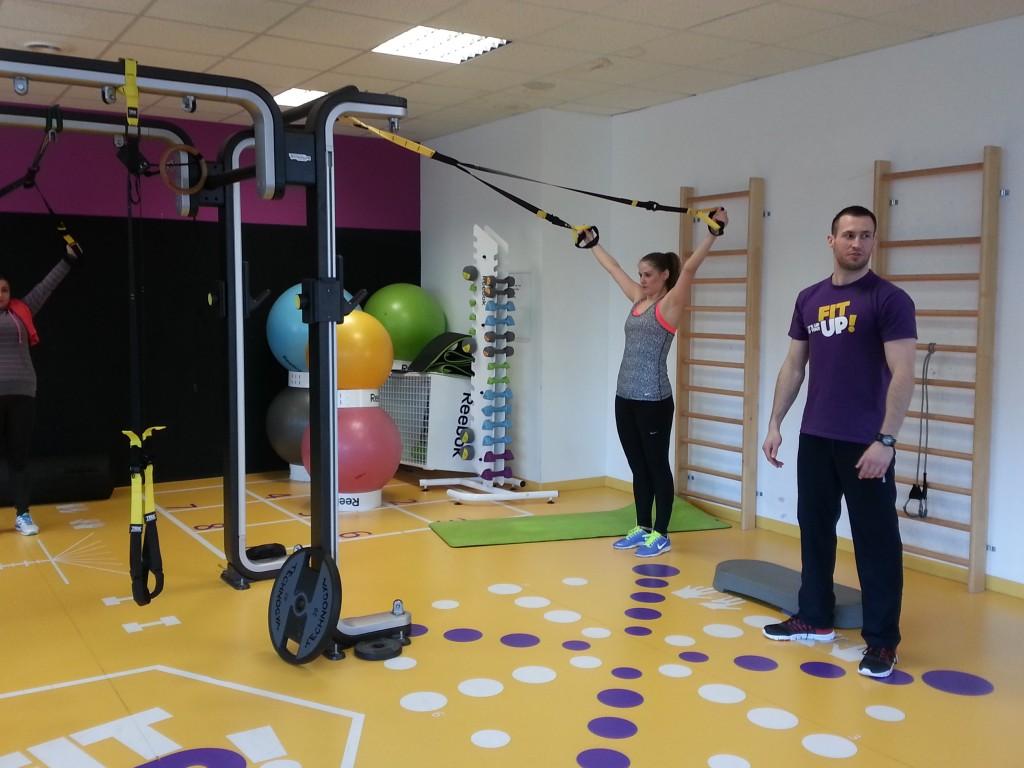 Osvieženie fitness formou TRX cvičení.